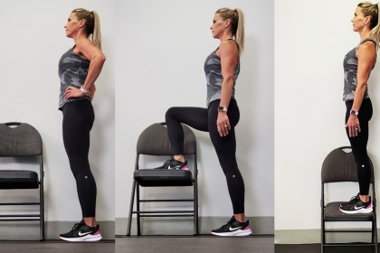 10 Minute Total Body Chair Workout