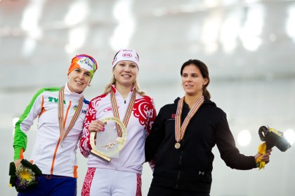 Olga Fatkulina: Russian Long-Track Speed Skater, World Single Distance Champion and Olympics Silver Medalist talks of her Success Story
