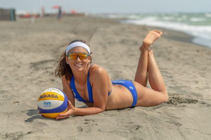 """Marta Menegatti: Italian Beach Volleyball Player, 2X Gold Medalist FIVB World Tour Mantra of Success """"You do not just wake up and become a Butterfly, Growth is a Process"""""""