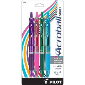 Pilot Acroball Colors Pens