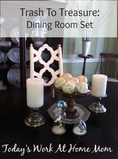 Trash to Treasure: Thrift Store Dining Room Set