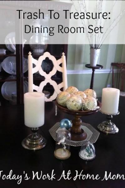 Trash to Treasure Dining Room Set