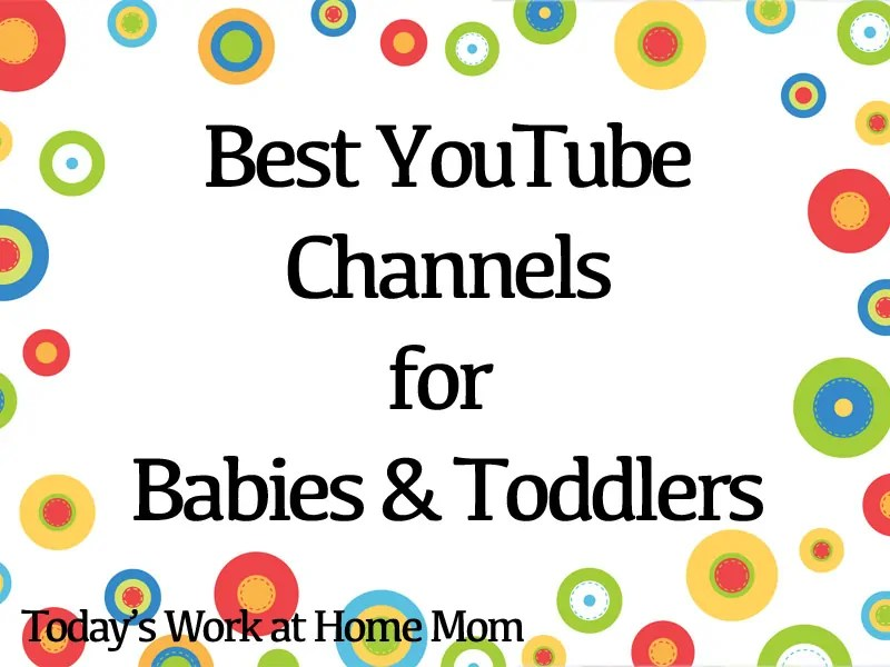 Best YouTube Channels for Babies and Toddlers