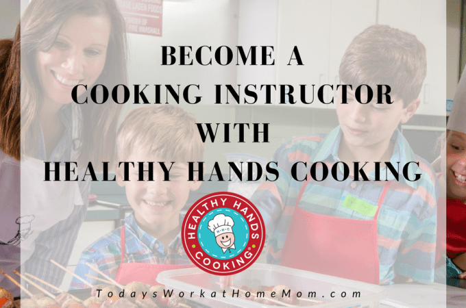 Did you know you could be using your love of cooking to make money? Learn how to become a cooking instructor with Healthy Hands Cooking.