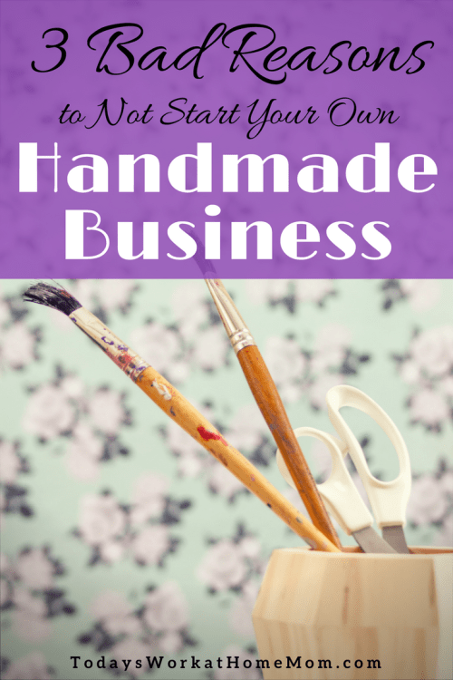 Been wanting your own handmade business but keep postponing because of fear, money or too busy? Learn how to overcome these and get started on your new business!