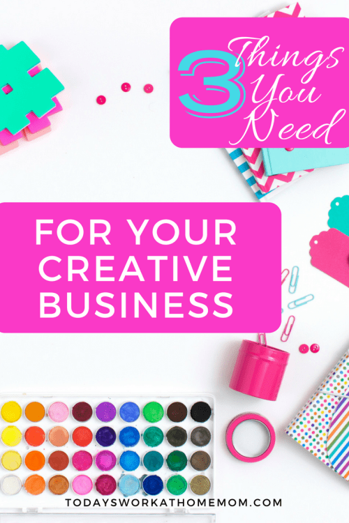 You've decided to launch your creative business online. Regardless what your product is, there are 3 important things you must have to market your business.