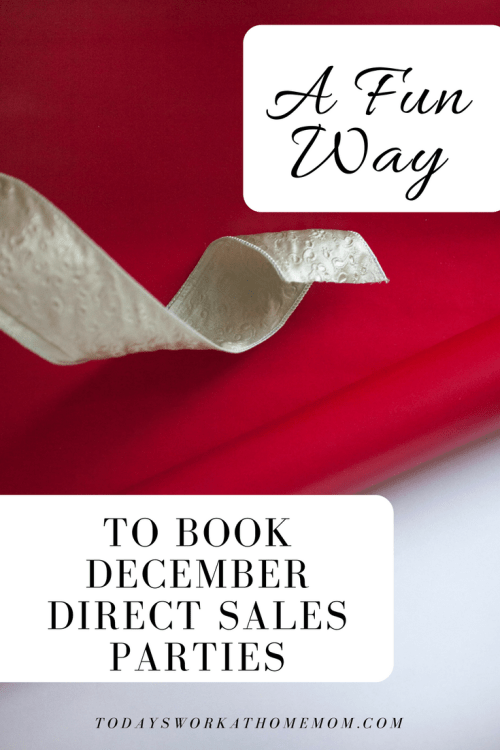 It can be tough to book parties in December. But here's an idea that not only can be fun, but also get you a lot new parties booked for month!
