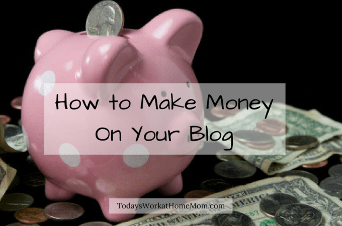 Curious of how to make money on your blog. You see income reports and want to know how you can do it, too? Here's the scoop on 4 ways to earn!