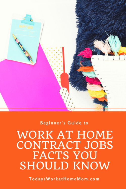 Work at home contract jobs are the most common type of remote jobs. Learning what they are and involve will help you get off to a good start job hunting.