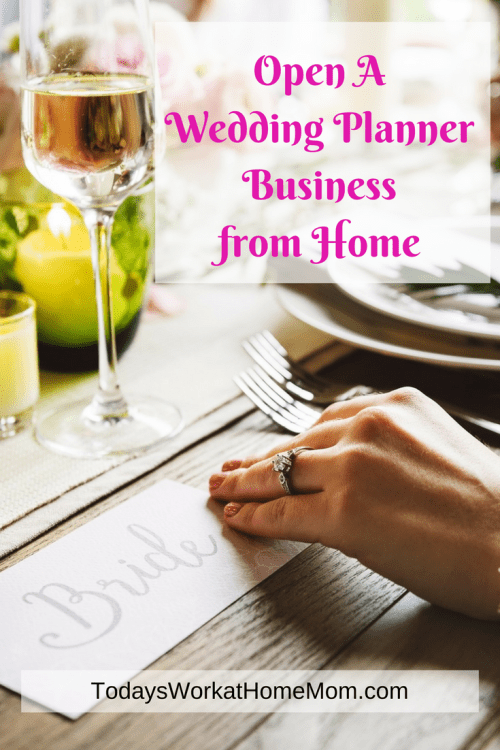 The wedding planner business is booming! Learn to start your own wedding planner business from home and enjoy helping couples create special memories.