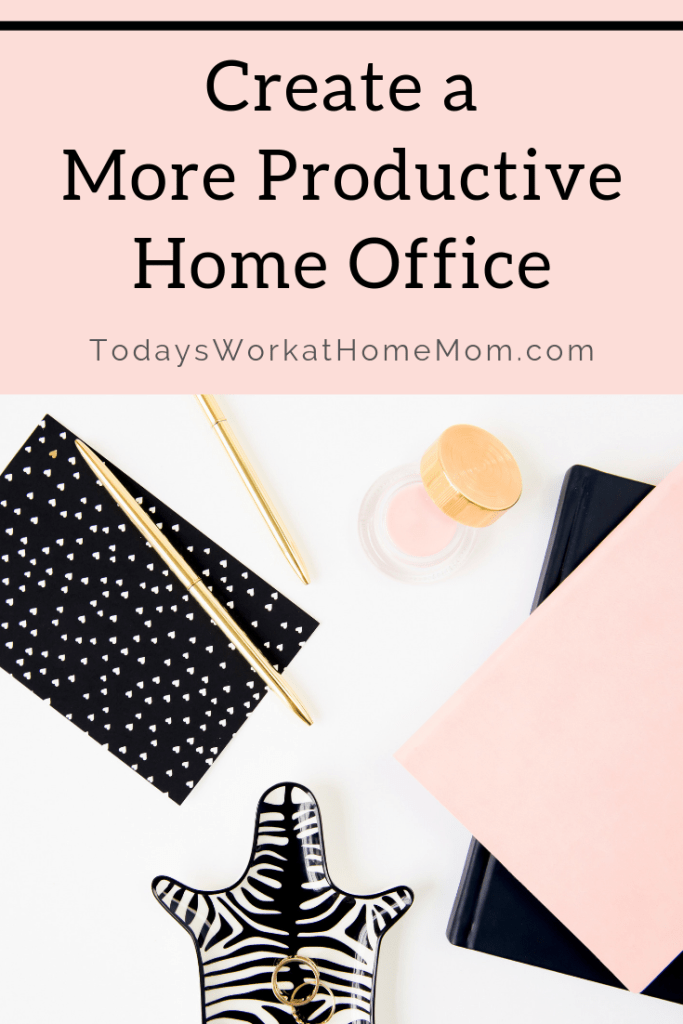 Get more done at your work at home job with a more productive home office design. We work better when we are comfortable, right?