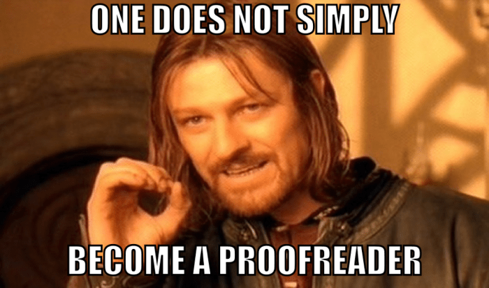 Freelance-Proofreading