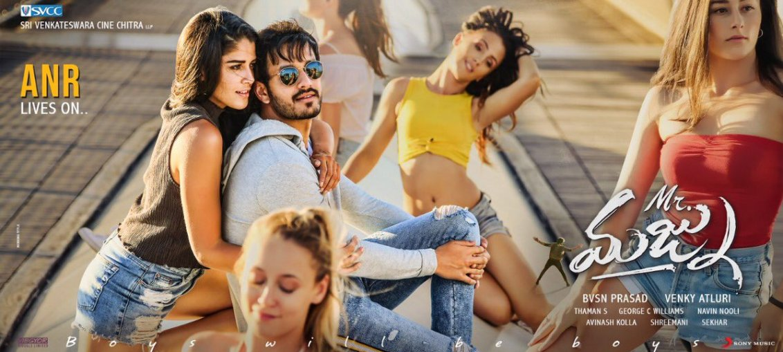 Mr Majnu Movie stills