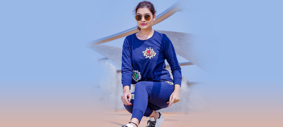 Payal Rajput Blue Dress Photos