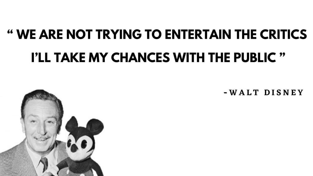 walt Disney quote