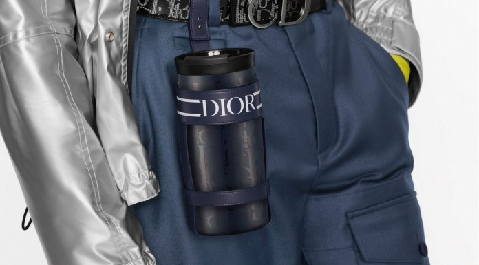24Bottles Dior Travel Tumbler with the refined and exclusive Oblique pattern