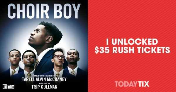 Choir Boy on Broadway Rush Tickets | New York | TodayTix