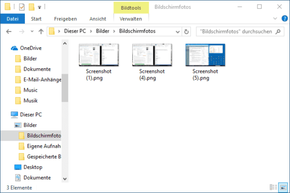 windows 10 screenshots ordner