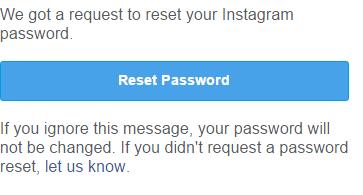 instagram passwort zurücksetzen
