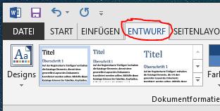 Microsoft word hintergrundfarbe
