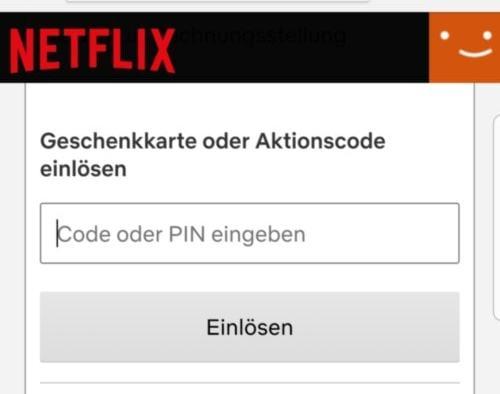Netflix Gutschein Einlösen