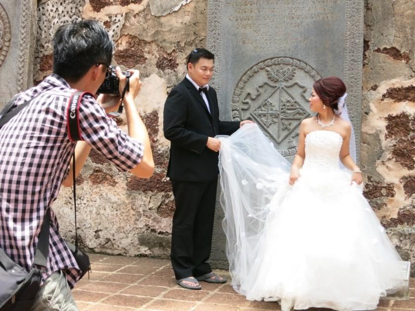 Brautpaar in Malakka