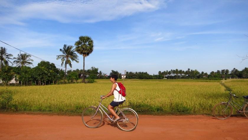 kambodscha fahrrad fahren
