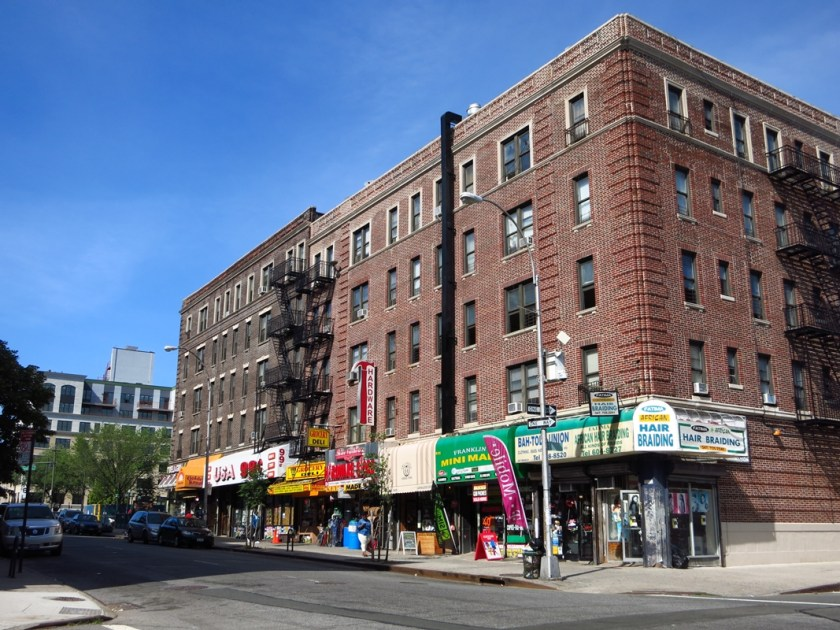 New York Brooklyn Straßenkreuzung