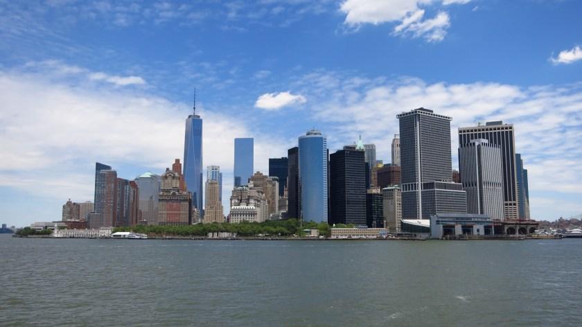 Manhattan New York Skyline