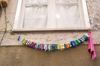 Lissabon Wäscheklammern