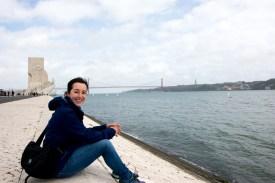 Lissabon liegt am Tejo Fluß.