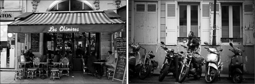 paris black and white streetphoto