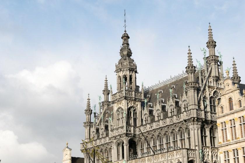 bruessel grote markt rmaison du roi belgien