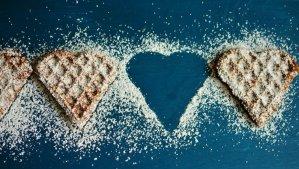 Waffle Heart Love