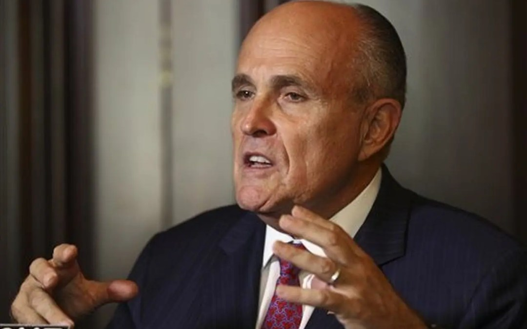 """Rudy Giuliani comes out and talks about """"dominion"""" whistleblowers and what he is doing about it…"""