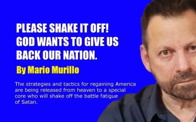 PLEASE SHAKE IT OFF! GOD WANTS TO GIVE US OUR NATION BACK.