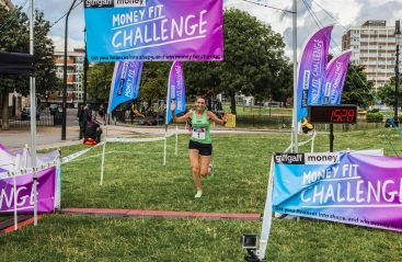 0005 Finish Line - Giff Gaff Money Fit Challenge