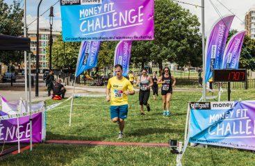 0008 Finish Line - Giff Gaff Money Fit Challenge