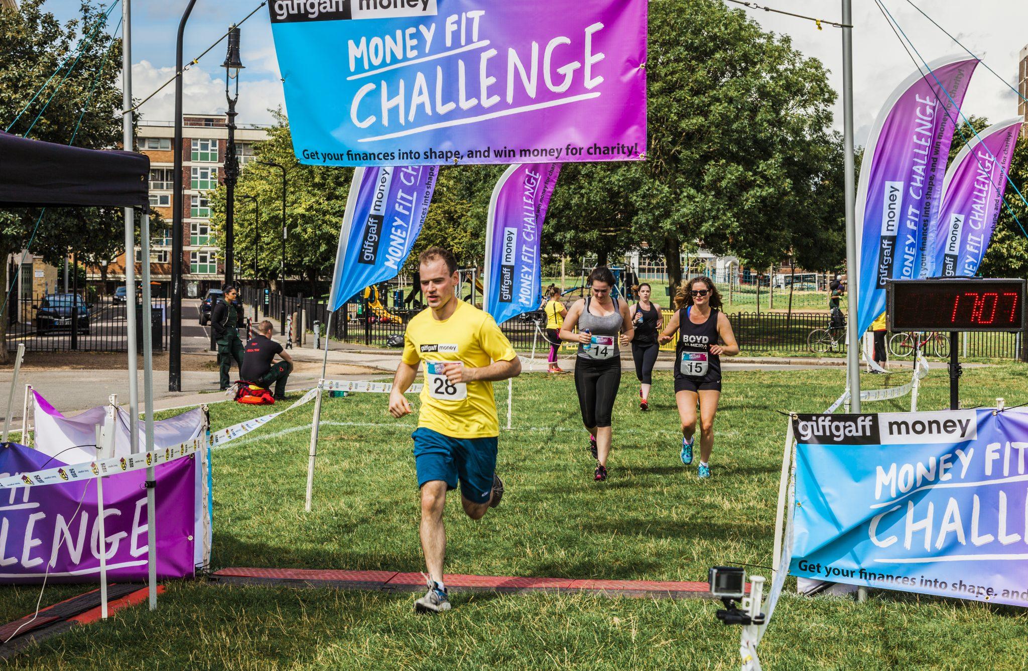 0009 Finish Line - Giff Gaff Money Fit Challenge
