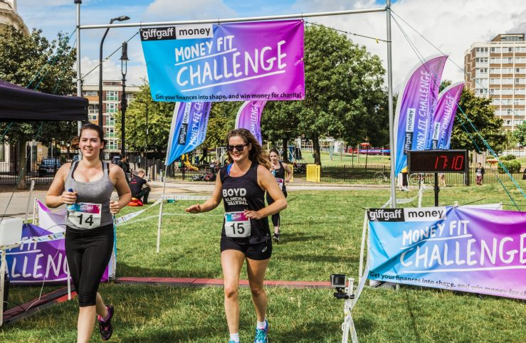 0010 Finish Line - Giff Gaff Money Fit Challenge