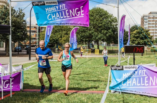0015 Finish Line - Giff Gaff Money Fit Challenge