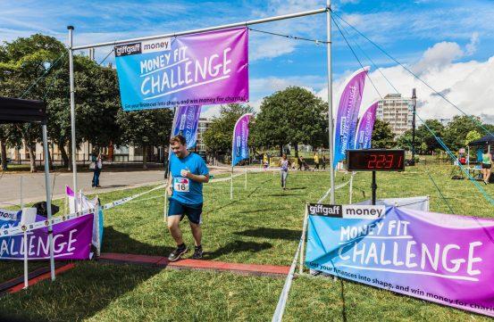0038 Finish Line - Giff Gaff Money Fit Challenge