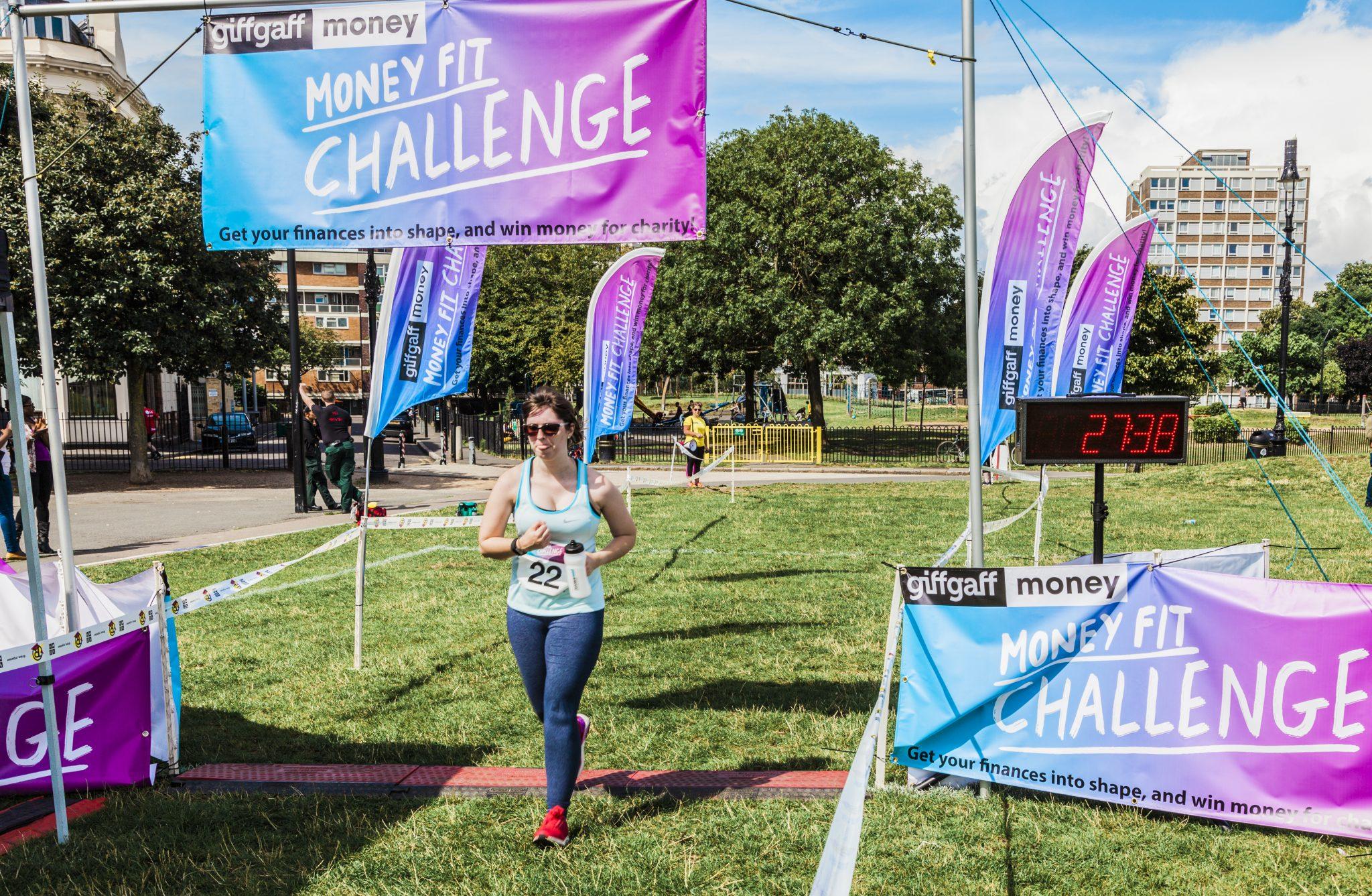 0062 Finish Line - Giff Gaff Money Fit Challenge