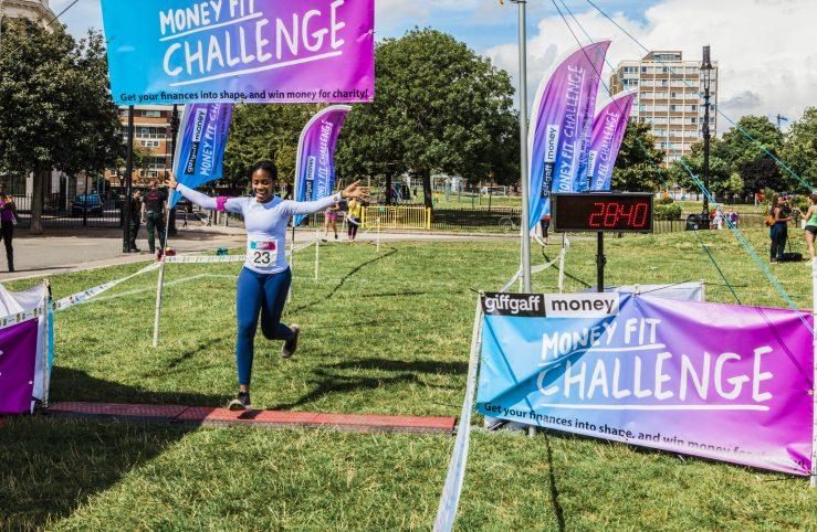 0067 Finish Line - Giff Gaff Money Fit Challenge
