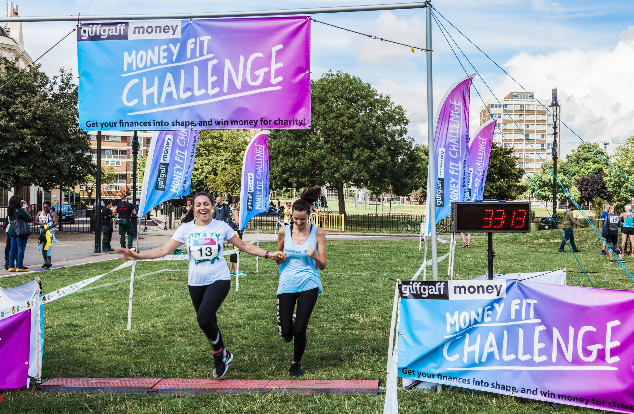 0081 Finish Line - Giff Gaff Money Fit Challenge
