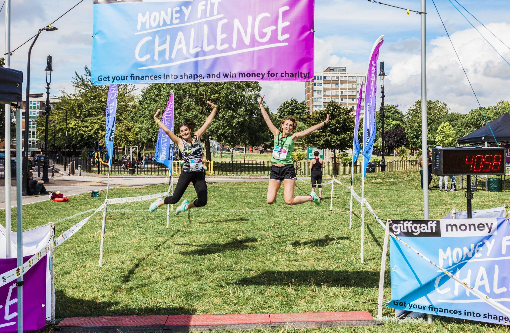 0095 Finish Line - Giff Gaff Money Fit Challenge
