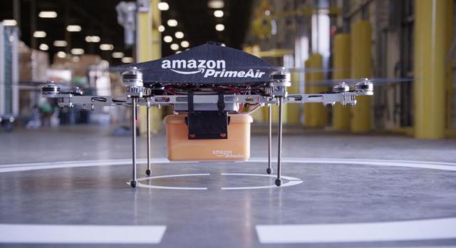 Amazon confirms 'send glitter to your enemies' drone
