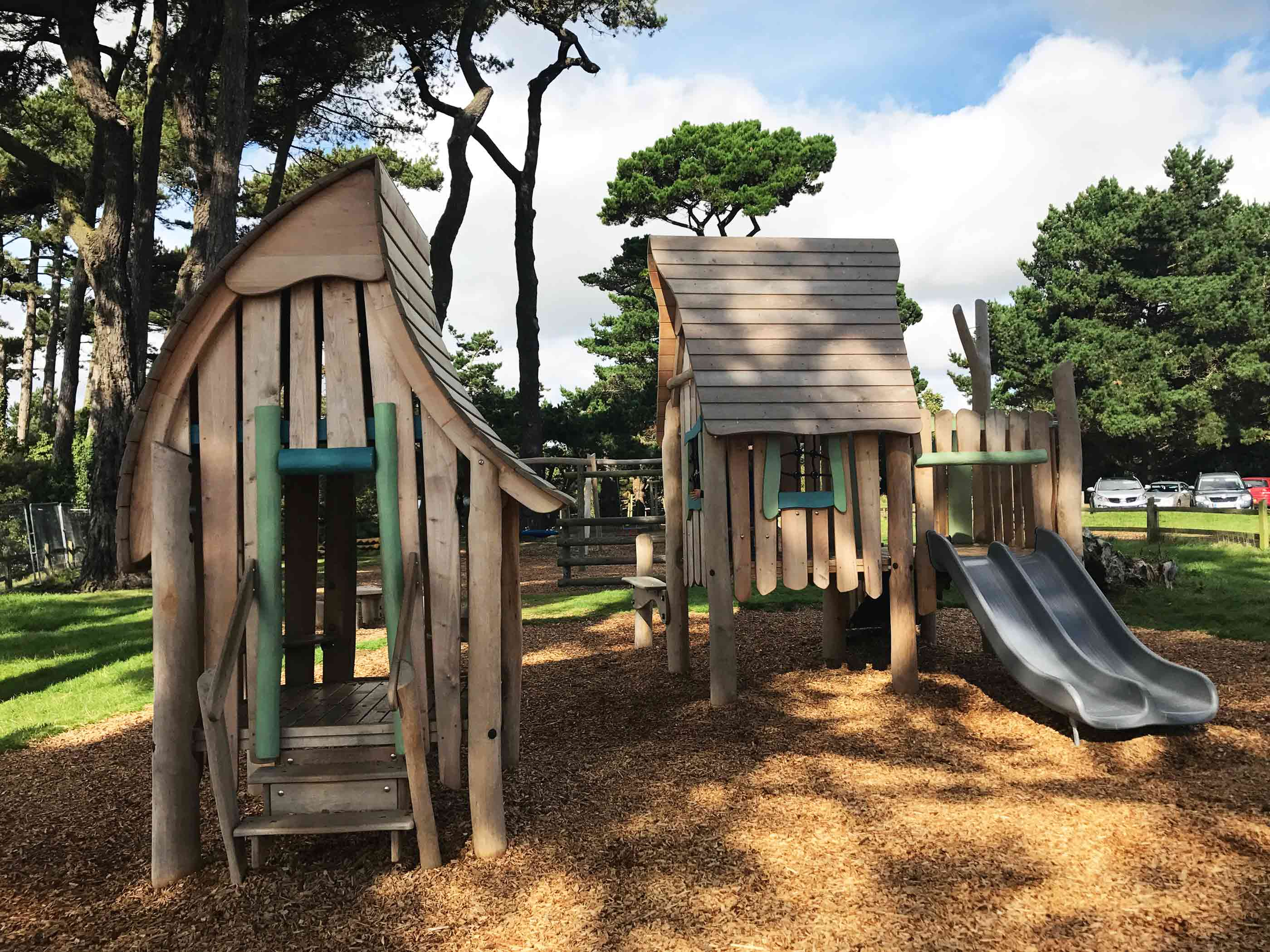 Play by the Sea at Lepe Country Park Play Area, Exbury, New Forest