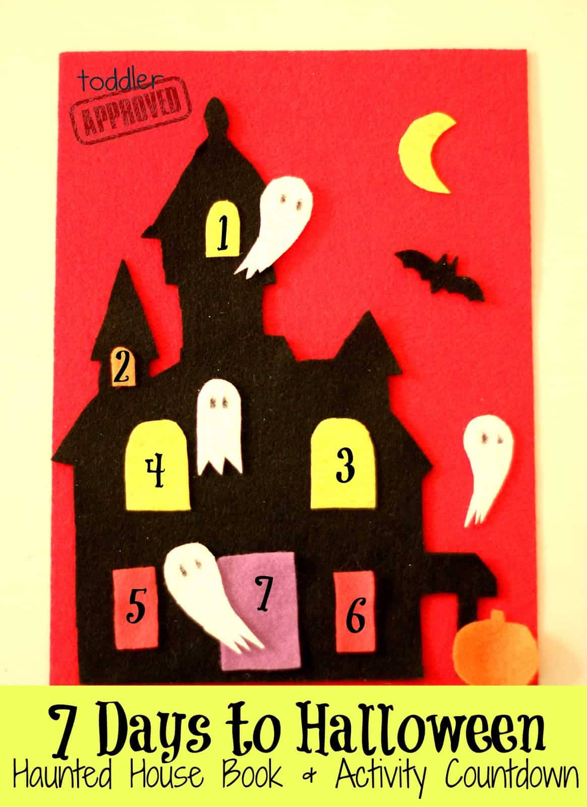 7 Days To Halloween Haunted House Book Amp Activity