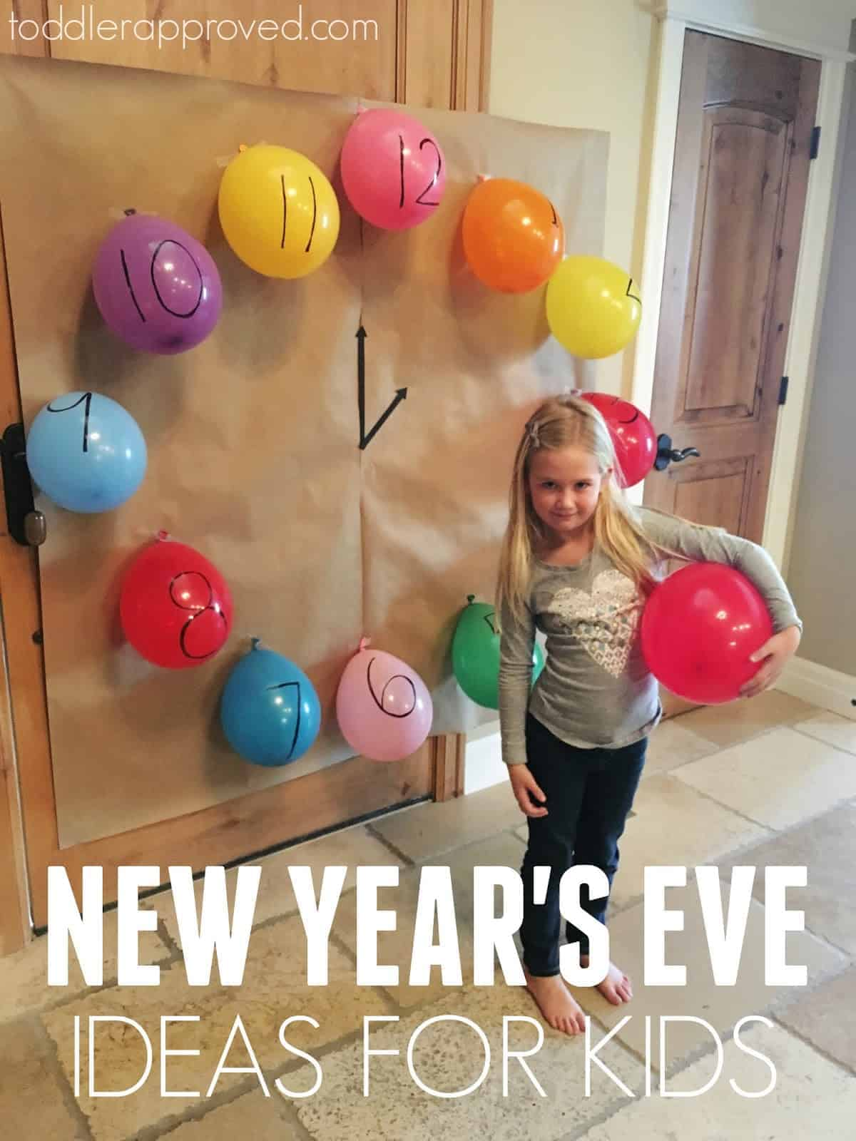 Easy New Year S Eve Party Ideas For Kids
